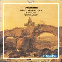 Telemann: Wind Concertos, Vol. 6 - Camerata K�ln; J�rg Schultess (horn); Karl Kaiser (piccolo flute); La Stagione Orchestra; Luise Baumgartl (oboe);...