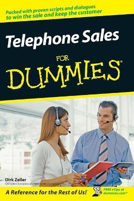Telephone Sales for Dummies - Zeller, Dirk