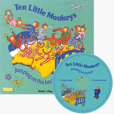Ten Little Monkeys: Jumping on the Bed - Twinn, A