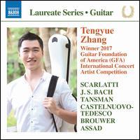 Tengyue Zhang: Winner 2017 Guitar Foundation of America International Concert Artist Competition - Tengyue Zhang (guitar)