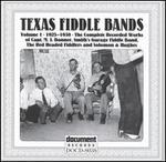 Texas Fiddle Bands, Vol. 1: 1925-1930