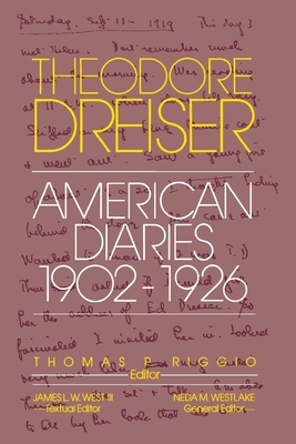 The American Diaries, 1902-1926 - Dreiser, Theodore