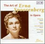 The Art of Erna Spoorenberg in Opera