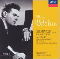 The Art of Julius Katchen, Vol. 2 - Julius Katchen (piano); London Symphony Chorus (choir, chorus)