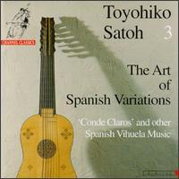 The Art Of Spanish Variations - Ireen Thomas (vihuela); Toyohiko Satoh (archlute)