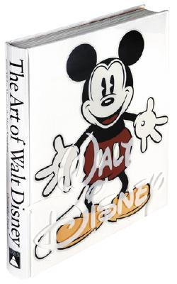 The Art of Walt Disney: From Mickey Mouse to the Magic Kingdoms - Finch, Christopher, and Eisner, Michael D (Foreword by)