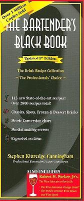 The Bartender's Black Book - Cunningham, Stephen Kittredge