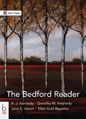 The Bedford Reader - Kennedy, X J, Mr.