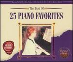 The Best of 25 Piano Favorites