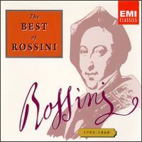 The Best of Rossini - Bruno Canino (harpsichord); Jane Berbié (vocals); Maria Callas (soprano); Montserrat Caballé (vocals); Pilar Lorengar (soprano)