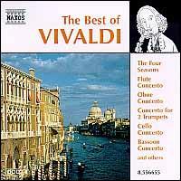 The Best of Vivaldi - Budapest Strings; Frantisek Herman (bassoon); Jindrich Pazdera (violin); Jirí Stivín (flute); Jirí Válek (flute);...