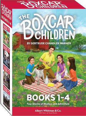 The Boxcar Children Mysteries Boxed Set #1-4 - Warner, Gertrude Chandler, and Warner