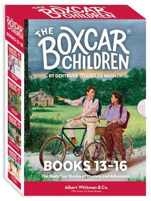 The Boxcar Children Mysteries Boxed Set #13-16 - Warner, Gertrude Chandler