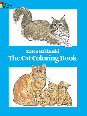 The Cat Coloring Book - Baldauski, Karen