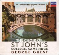 The Complete Argo Recordings - Alastair Roberts (treble); Alexander Young (tenor); Alfreda Hodgson (contralto); Alfreda Hodgson (mezzo-soprano);...