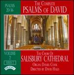The Complete Psalms of David, Series 2, Vol. 2: Psalms 20-36