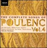 The Complete Songs of Poulenc, Vol. 4