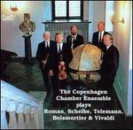 The Copenhagen Chamber Ensemble plays Roman, Scheibe, Telemann, Boismortier & Vivaldi