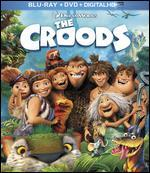 The Croods: With Movie Money [2 Discs] [Includes Digital Copy] [Blu-ray/DVD]