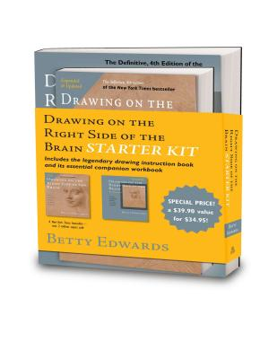 The Drawing on the Right Side of the Brain Starter Kit - Edwards, Betty