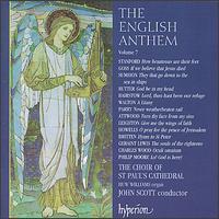 The English Anthem, Vol. 7 - Edward Burrowes (treble); Francis Steele (bass); Huw Williams (organ); St. Paul's Cathedral Choir, London (choir, chorus);...