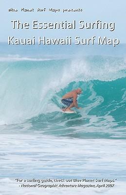 The Essential Surfing Kauai Hawaii Surf Map - Surf Maps, Blue Planet