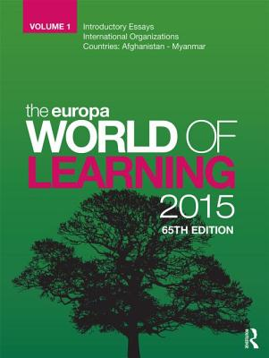 The Europa World of Learning 2015 - Europa Publications (Editor)