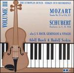 The European Busch-Serkin Duo Recordings, Vol. 3