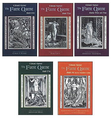 THe Faerie Queene: Complete in Five Volumes - Spenser, Edmund