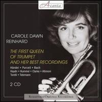 The First Queen of Trumpet and Her Best Recordings - Carole Dawn Reinhart (trumpet); German Bach Soloists; Jorma Hynninen (bass)
