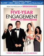 The Five-Year Engagement [2 Discs] [Includes Digital Copy] [UltraViolet] [Blu-ray/DVD] - Nicholas Stoller