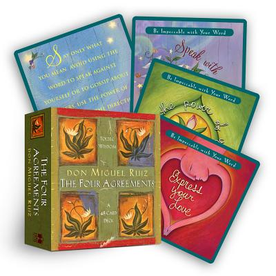 The Four Agreements Cards - Ruiz, Don Miguel