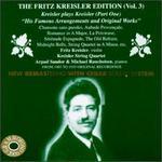 The Fritz Kreisler Edition, Vol. 3