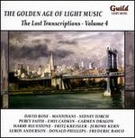 The Golden Age of Light Music: The Lost Transcriptions, Vol. 4