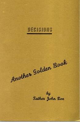 The Golden Book of Decisions - Doe, John