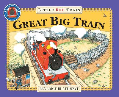 The Great Big Little Red Train - Blathwayt, Benedict