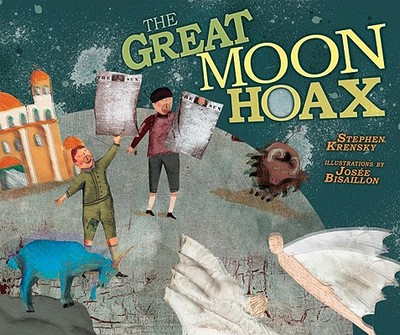 The Great Moon Hoax - Krensky, Stephen, Dr.