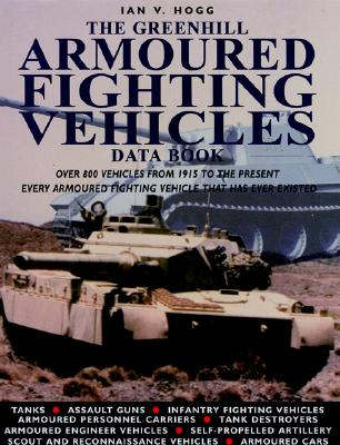 The Greenhill Data Book of Armoured Fighting Vehicles - Hogg, Ian