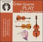 The Griller Quartet Play Mozart Quintets