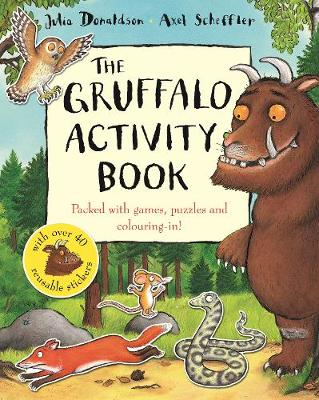 The Gruffalo Activity Book - Donaldson, Julia