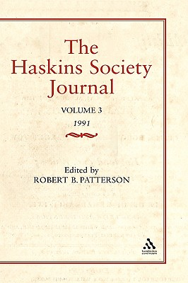 The Haskins Society Journal Studies in Medieval History: Volume 1 - Patterson, Robert
