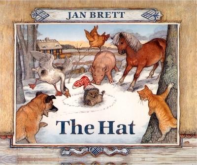 The Hat: Board Book - Brett, Jan