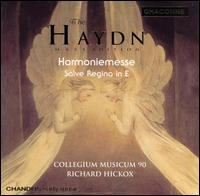 The Haydn Mass Edition: Harmoniemesse; Salve Regina - Collegium Musicum 90; Mark Padmore (tenor); Pamela Helen Stephen (mezzo-soprano); Stephen Varcoe (baritone)