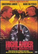 The Highlander: The Final Dimension [Special Director's Cut] - Andy Morahan