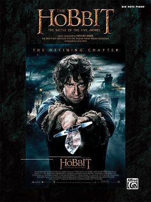 The Hobbit -- The Battle of the Five Armies: Big Note Piano Selections from the Original Motion Picture Soundtrack - Shore, Howard (Composer), and Matz, Carol (Composer)