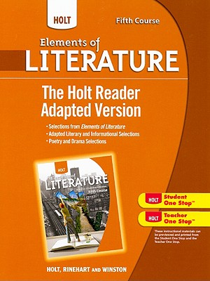 The Holt Reader Adapted Version, Fifth Course - Holt Rinehart & Winston (Creator)