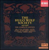 The Hugo Wolf Society Complete Edition - Alexander Kipnis (bass); Alexandra Trianti (soprano); Coenraad van Bos (piano); Edwin Schneider (piano);...