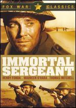 The Immortal Sergeant