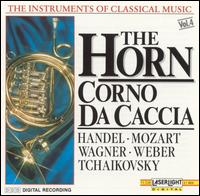The Instruments of Classical Music, Vol. 4: The Horn - Corno da Caccia - Bernd Heiser (french horn); Budapest Strings; Friedrich Kircheis (organ); Ludwig Güttler (french horn); Vienna Mozart Ensemble