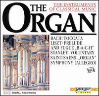 The Instruments of Classical Music, Vol. 8: The Organ - Budapest Strings; Christine Schornsheim (organ); Christoph Krummacher (organ); François-Henri Houbart (organ);...
